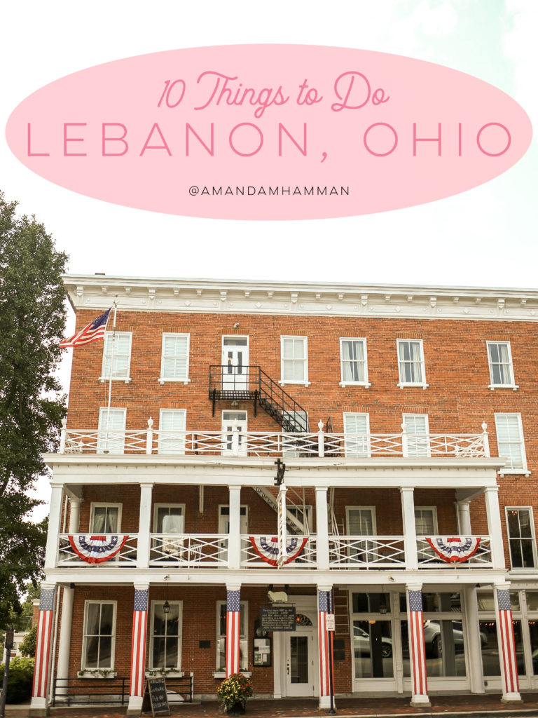 The Golden Lamb in Lebanon, Ohio
