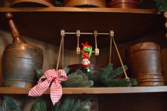 Our Lebanon decorations are accented with Tinkertoys!