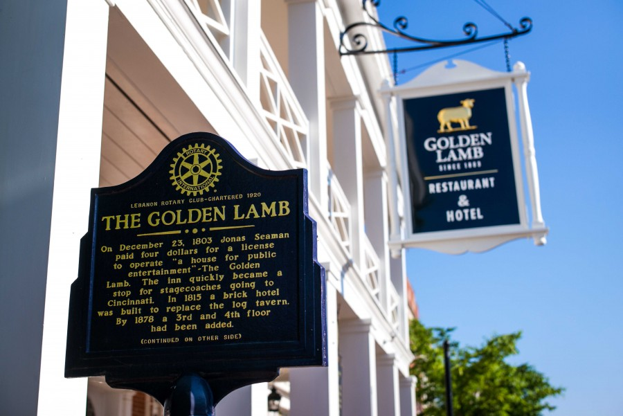 "Food & Wine names Golden Lamb one of Ohio's ""Best Classic Restaurants"""