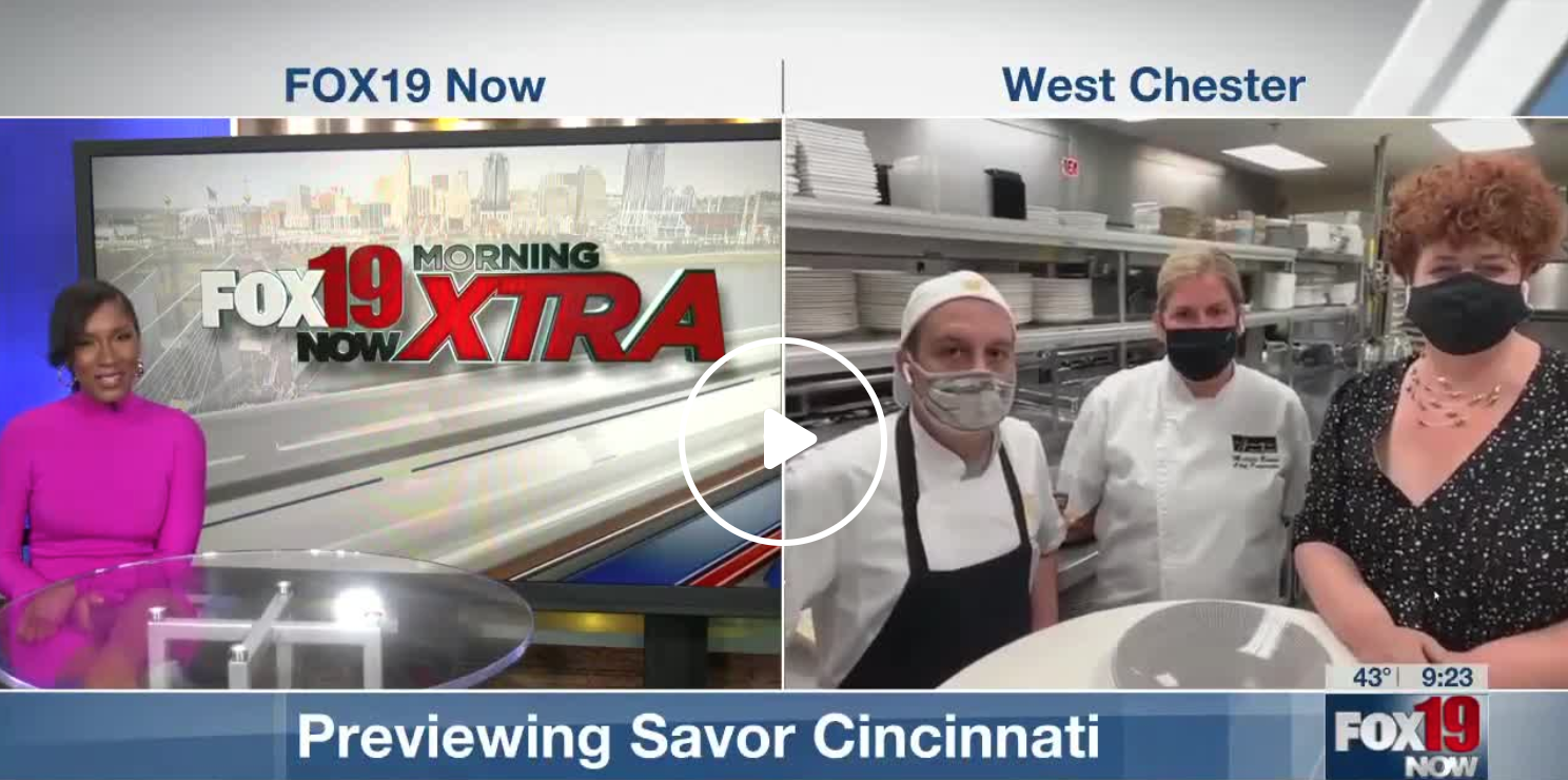 Fox 19 Savor Cincinnati Interview